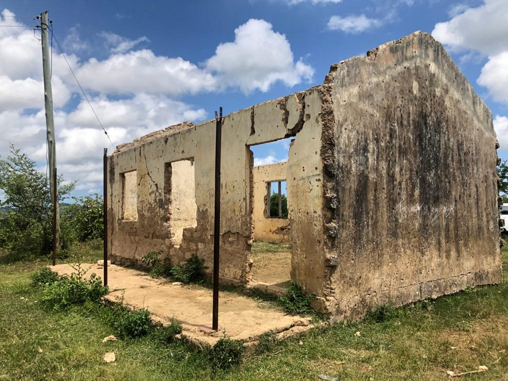 Empty School in the Village of Lutsanga